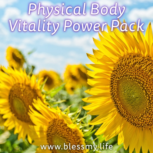 Physical Body Vitality Power Pack