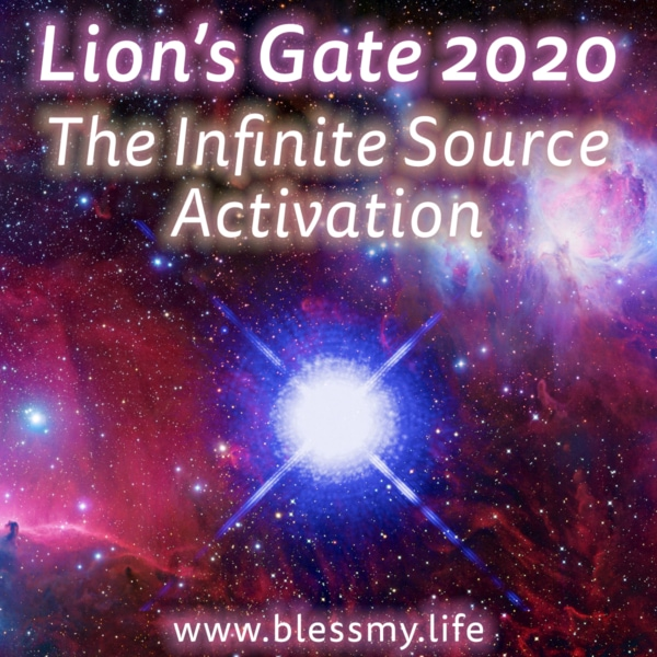 Lion's Gate 2020 - The Infinite Source Activation